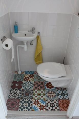 Een dagje patchworken spaansgeluk - Kleur wc ...