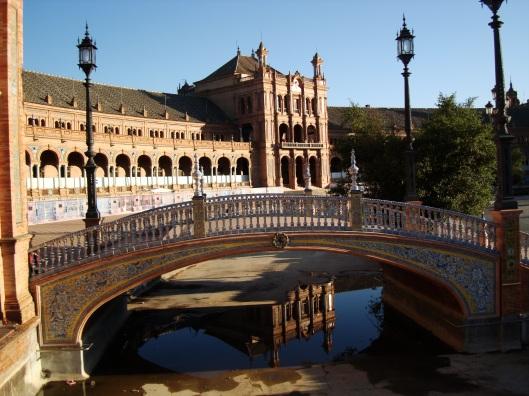 Sevilla Plaza Espana 2009