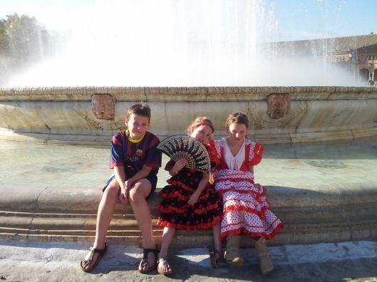 meisjes Spanje